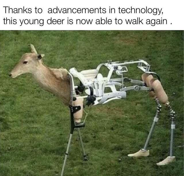 Technology advancements - meme