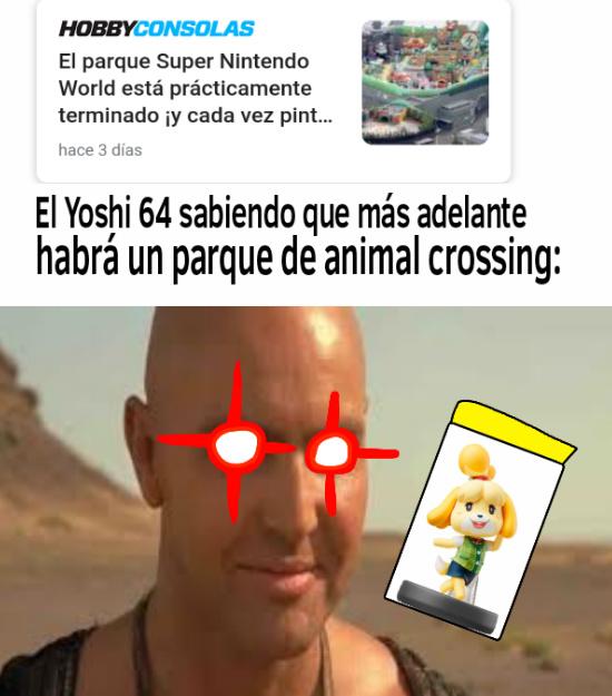 Si no creen que sea posible, harán más parques de juegos de Nintendo - meme