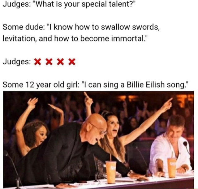 What's your talent? - meme