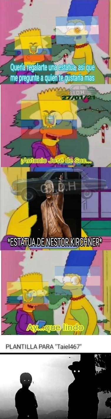 Alberto sos un pelotudo - meme