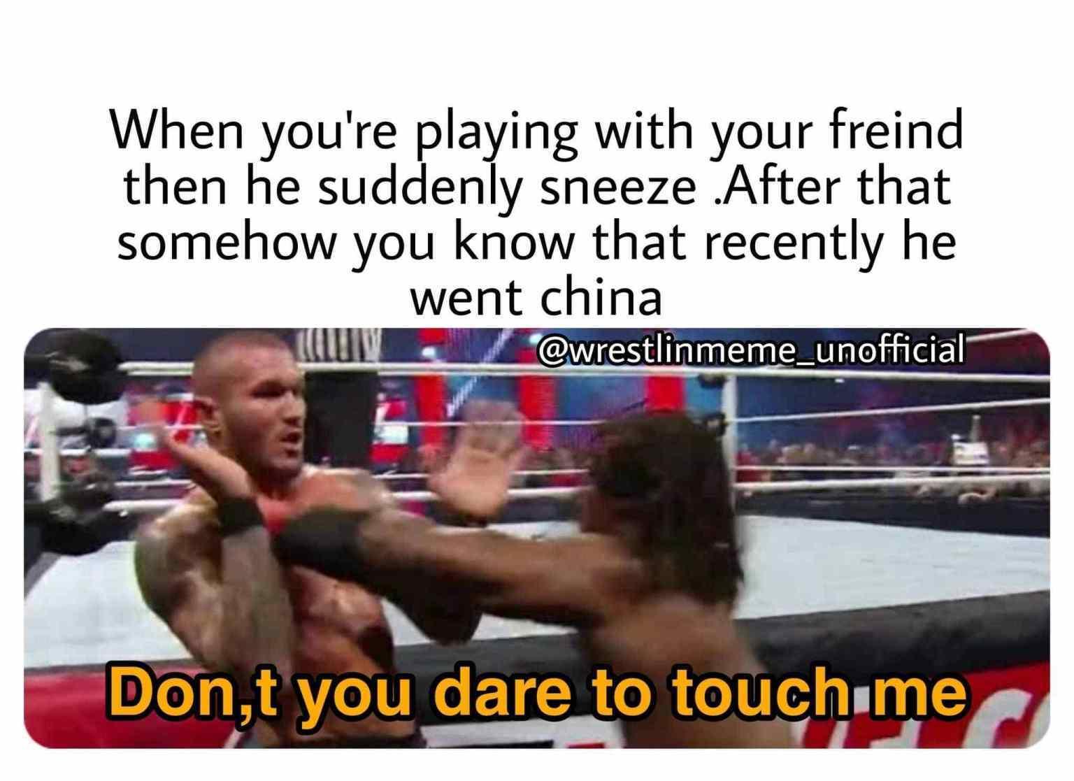 Randy Orton - meme