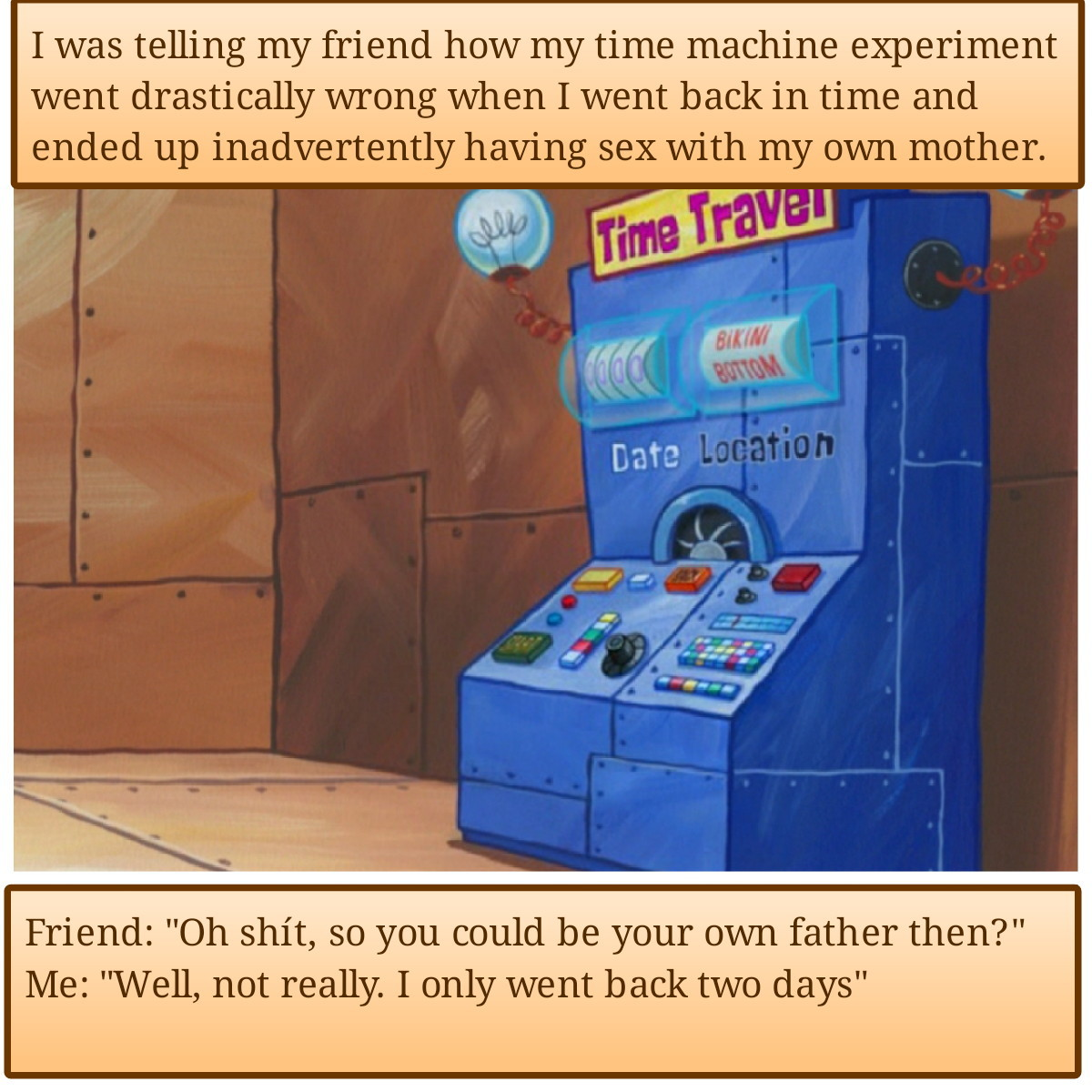 Time Machine - meme