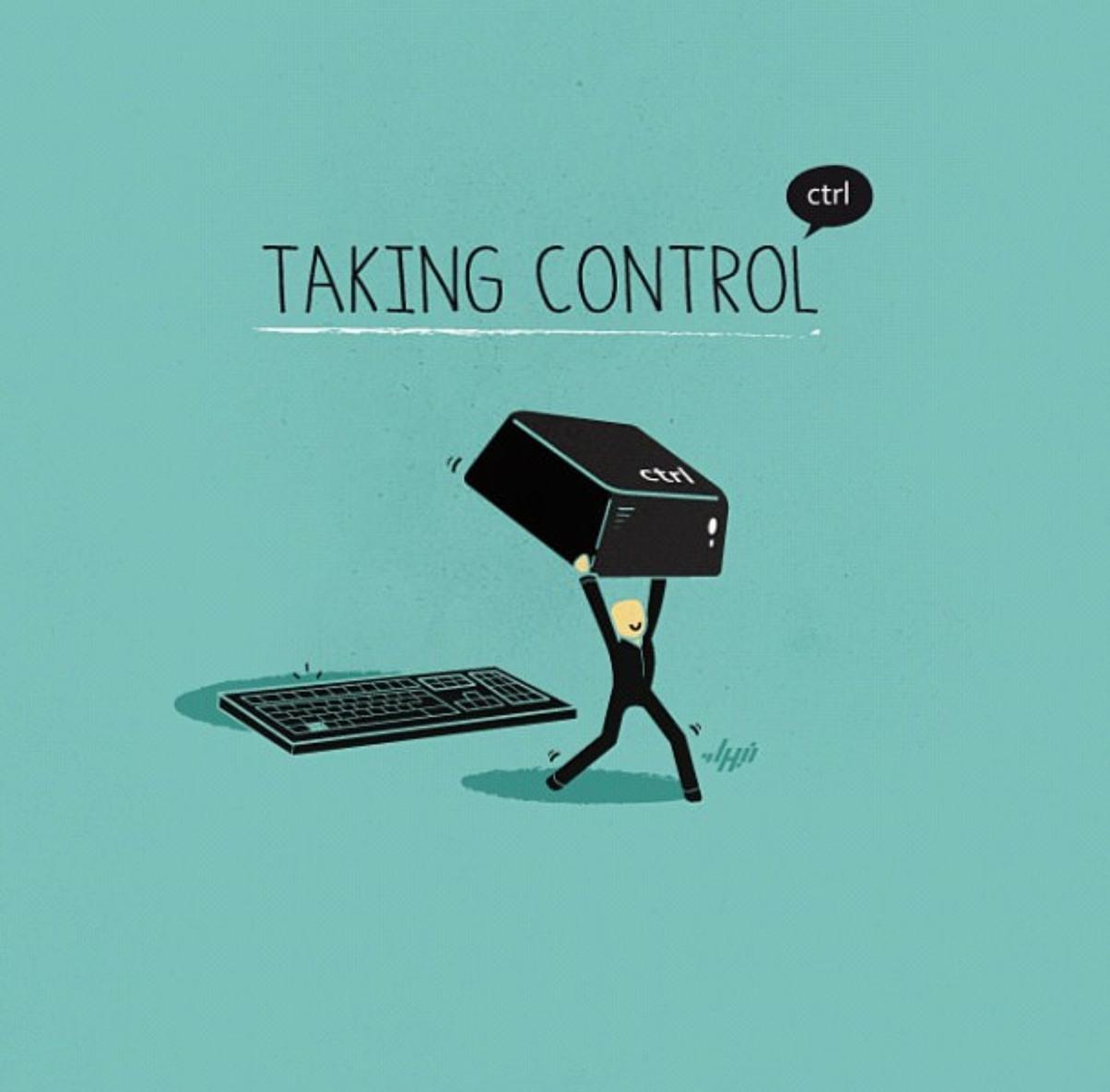Prendre le contrôle - meme