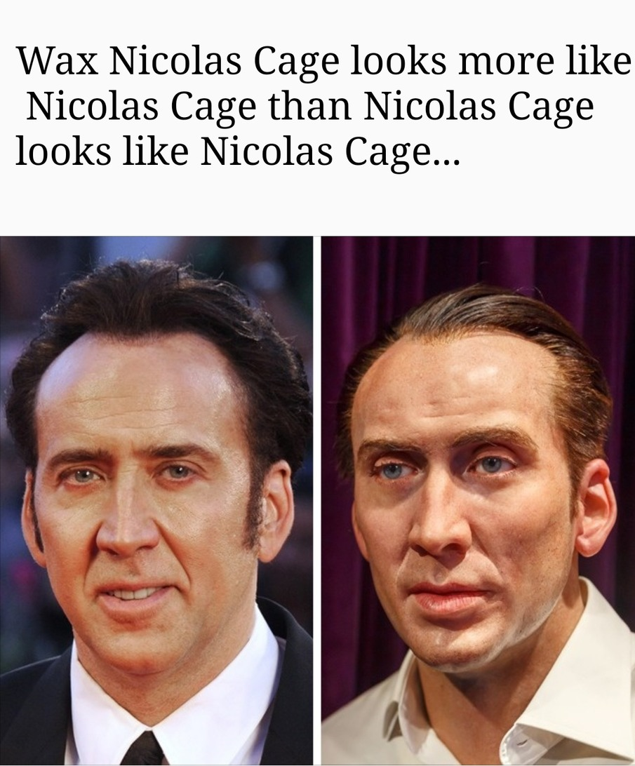 RIP Nicolas Cage. He will be missed. - meme
