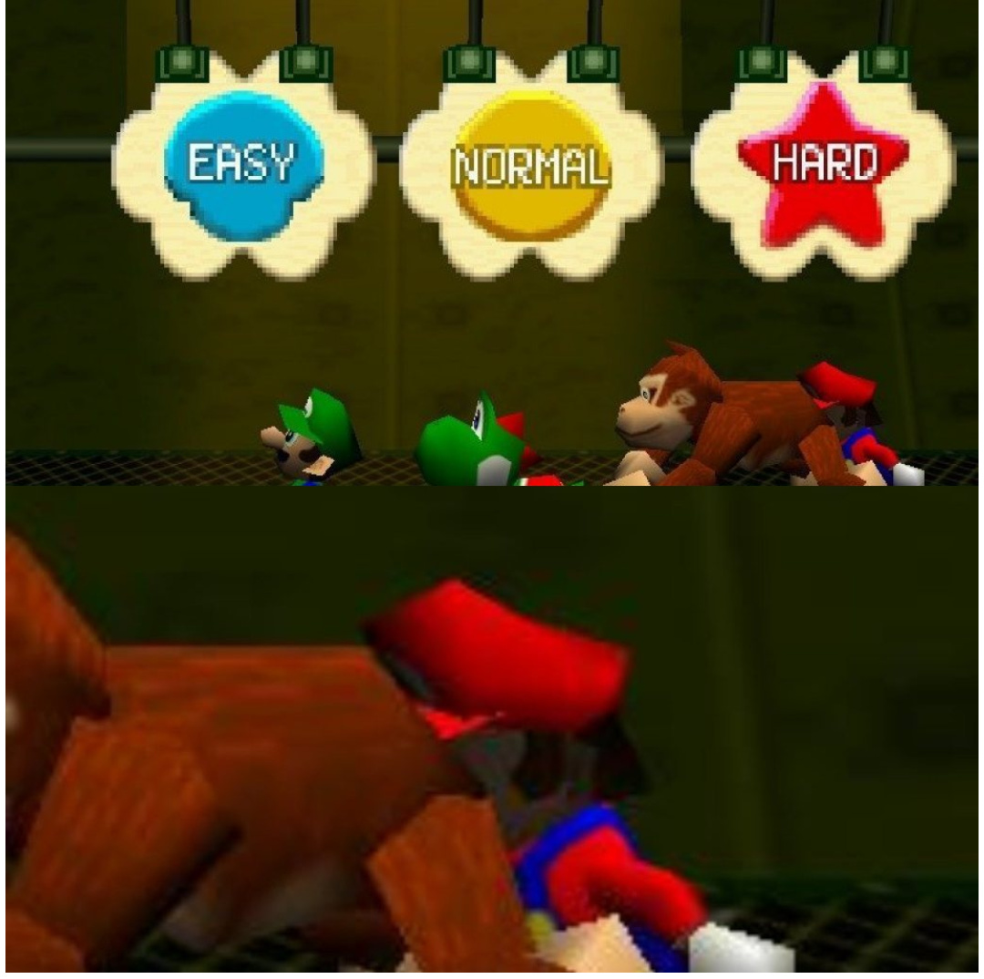 Mario Gay ;-; - meme