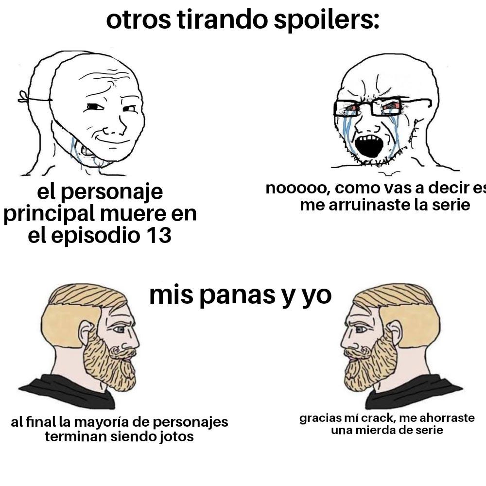 Mierda de serie - meme