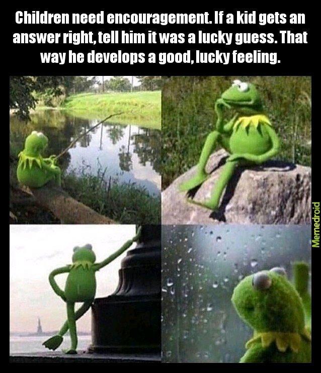 Lucky - meme
