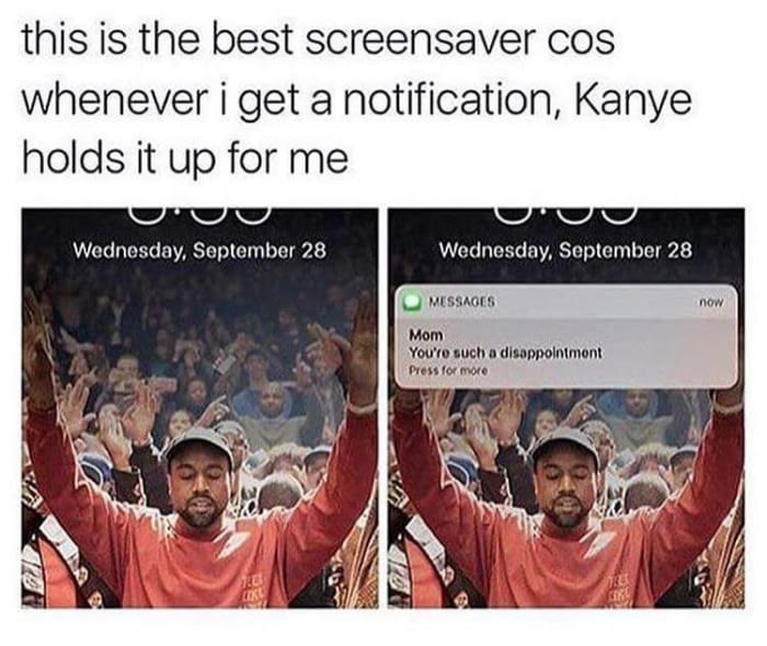 which screensaver you use? - meme