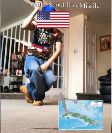 Cuban missile crisis lol - meme