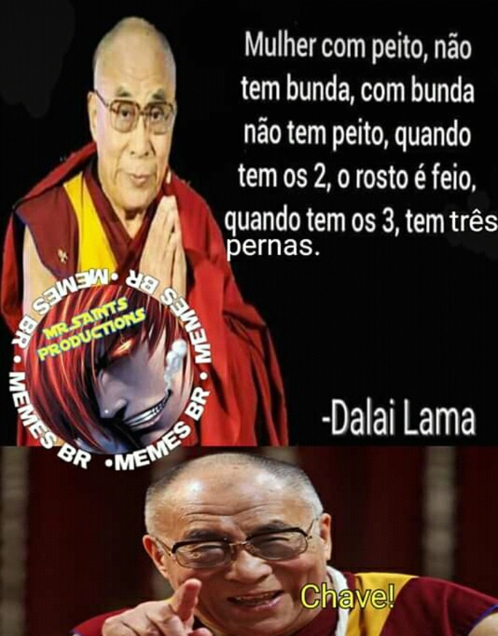 Dalai traveco - meme