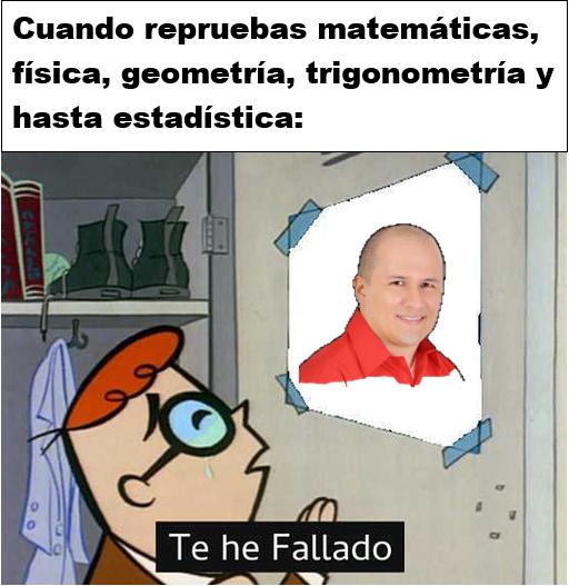"Julio ""el benévolo"" Profe - meme"