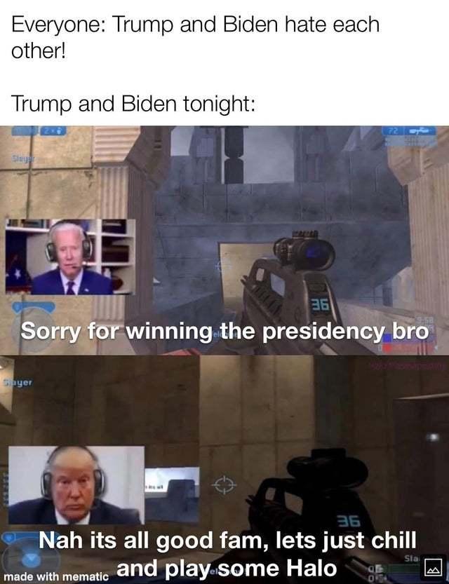 not political but it is? - meme