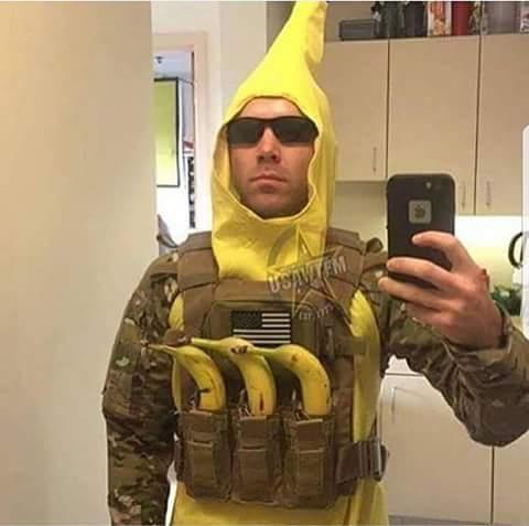 El comandante Banana a la orden - meme