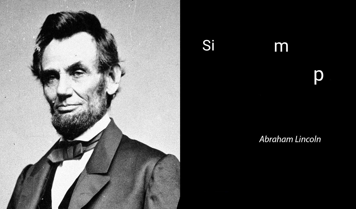 Simp - Abraham Lincoln - meme