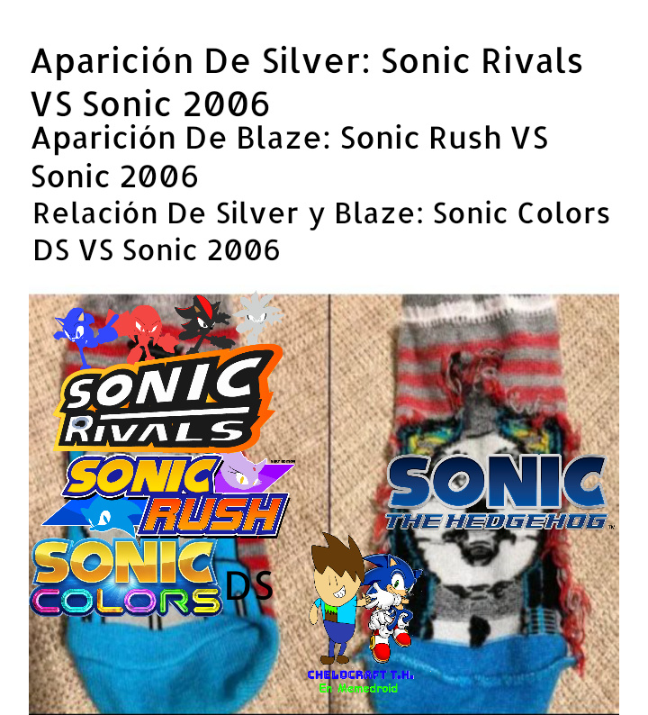 La De Sonic 2006 Es Rarísima - meme