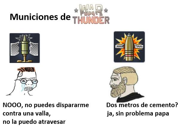 solo los q juegan War Thunder entenderán - meme