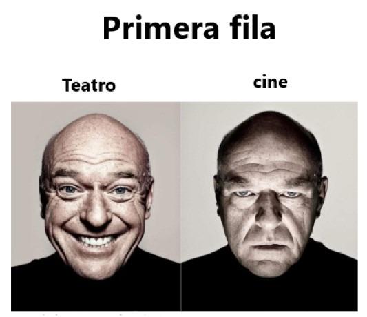 Primera fila - meme