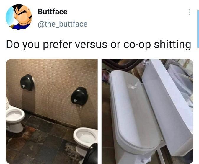 Wingman shitting - meme