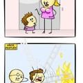 La escalera literal