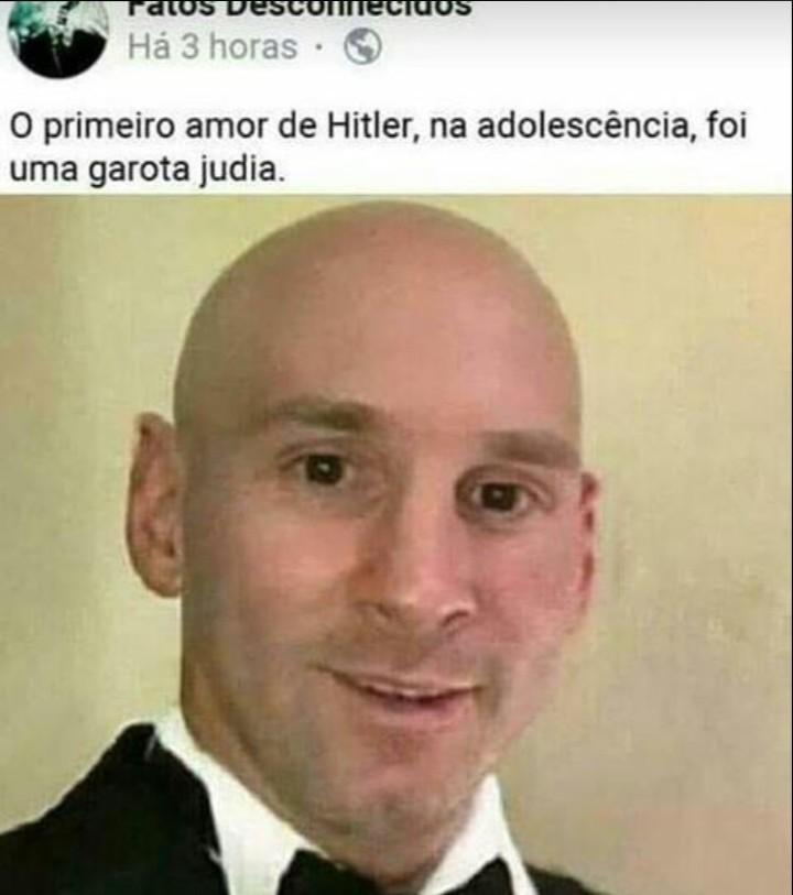 Messi com câncer fodase kmm - meme