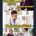 Em paz PESADÃO - meme médico
