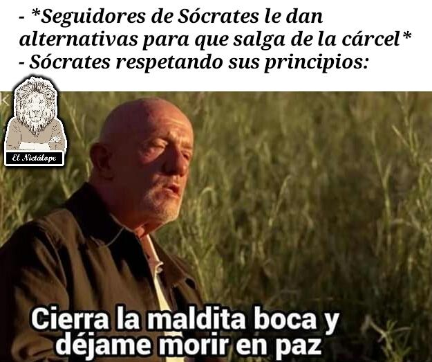 Sócrates - meme