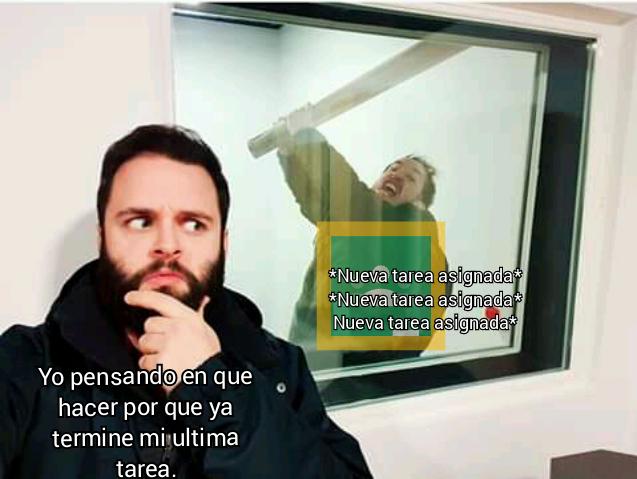 Tarea asignada - meme