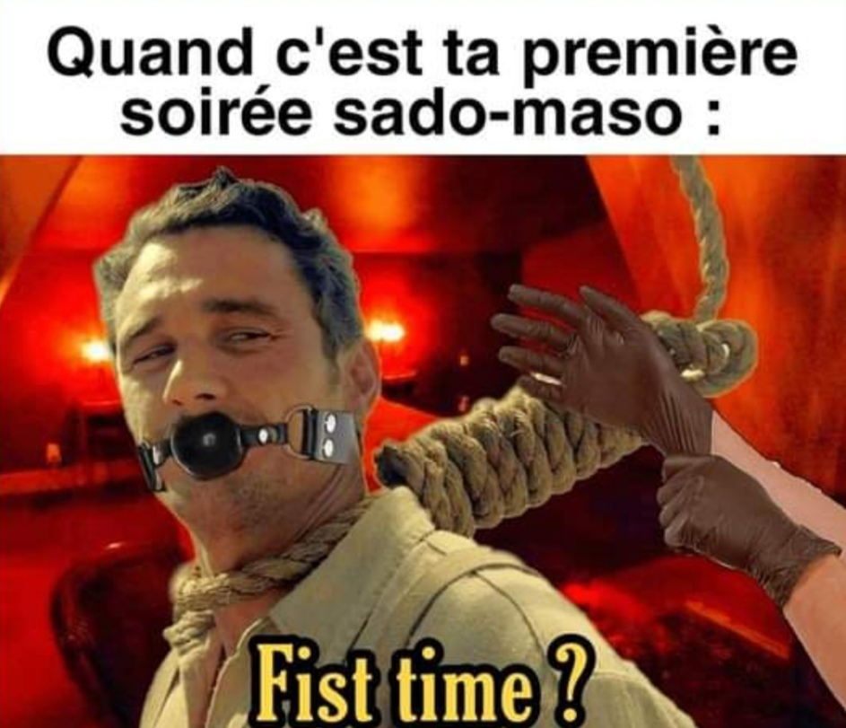 Remix de First time - meme