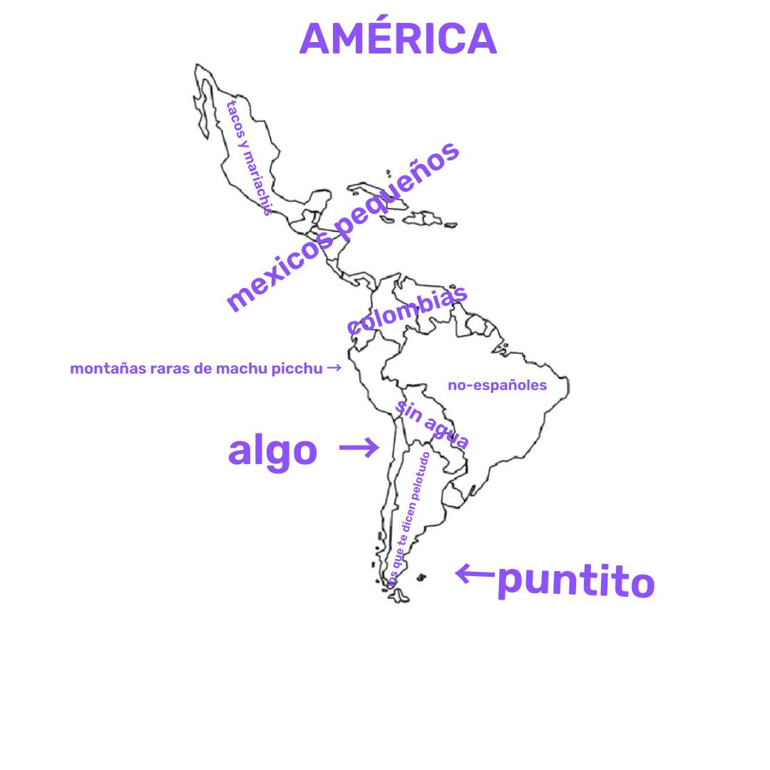 América Latina en dos palabras: - meme
