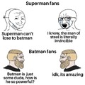 Batman is the most powerful