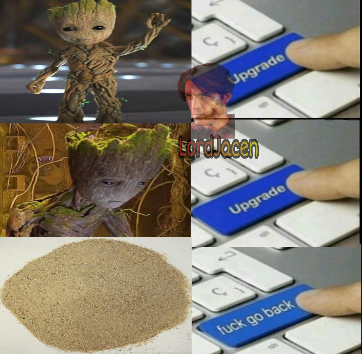 Infinity War Groot - meme