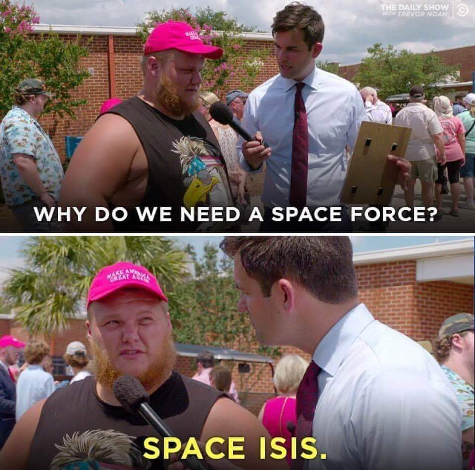 Well he's not wrong - meme