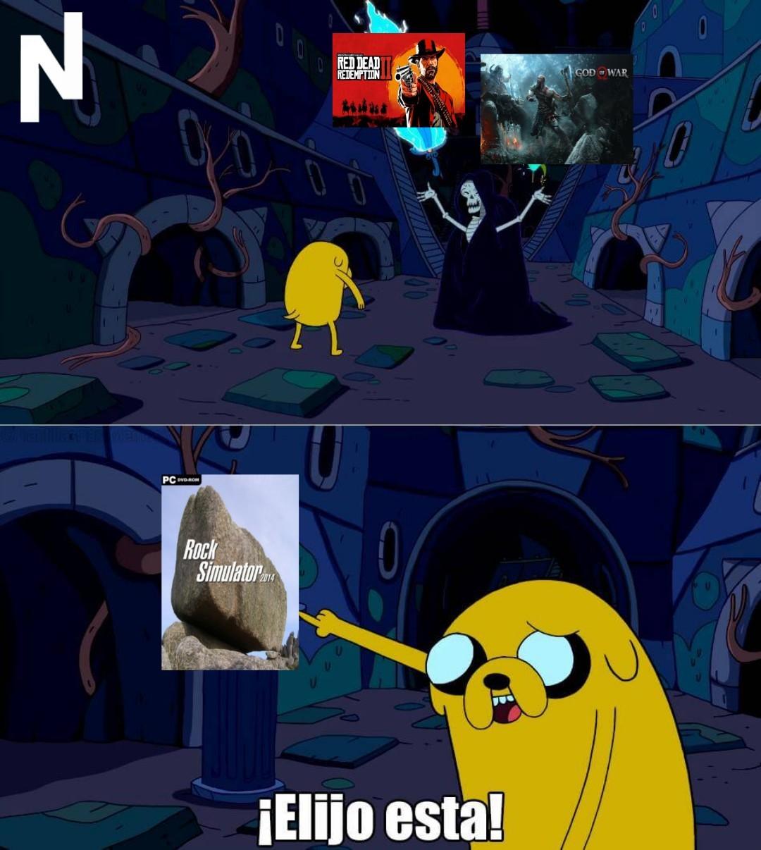 Por el final del juego me quedo con RDR 2 - meme