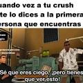 Cuando vez a tu crush