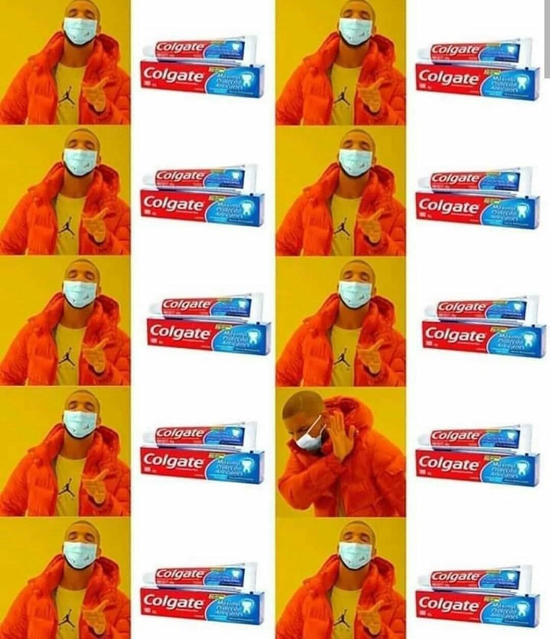 9/10 dentistas recomiendan que des positivo - meme