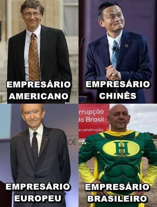 Só a gente tem super herói - meme