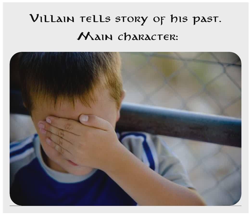 True animé story - meme