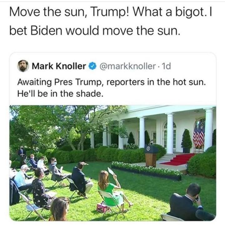 Damn what a bigot - meme