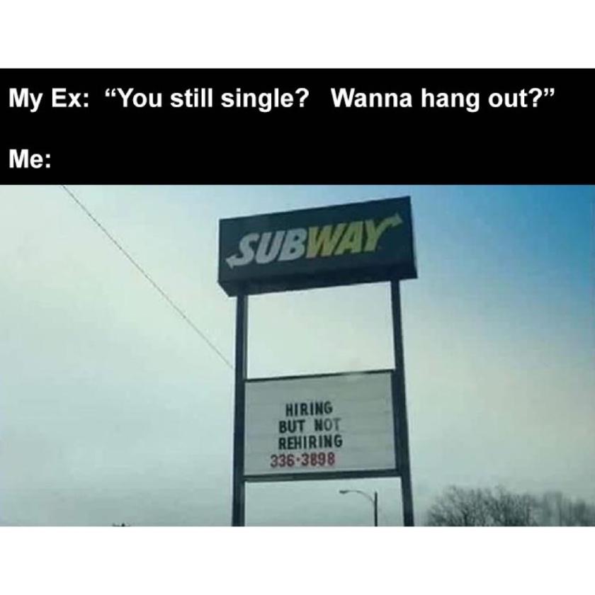 hiring but not rehiring - meme