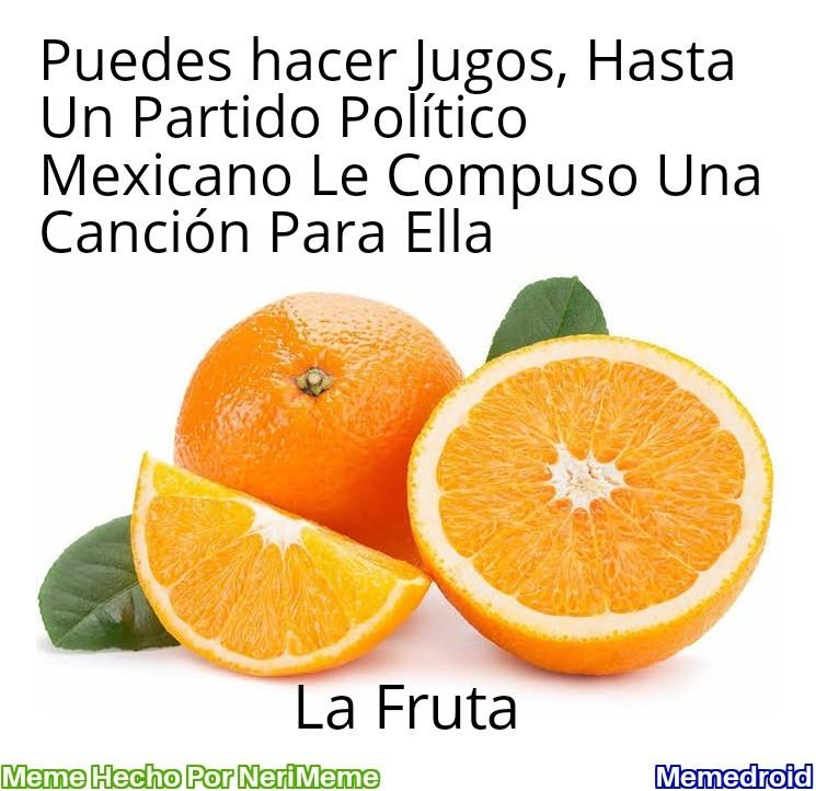 Meme: Movimiento Naranja