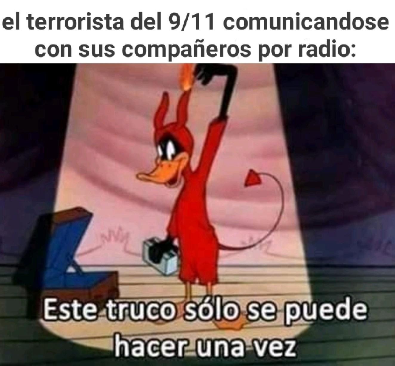 Terrorista - meme