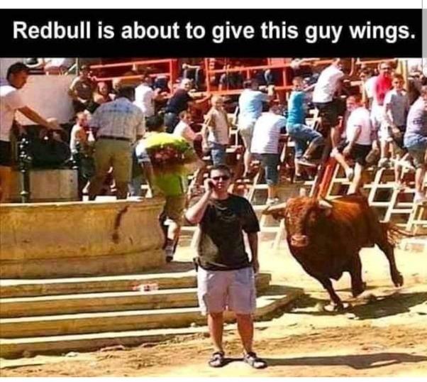 Red bull - meme