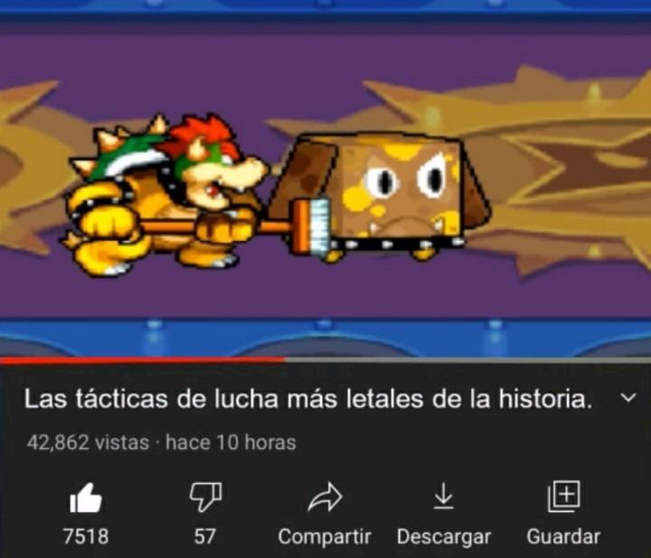 Juegazo el Mario & Luigi Bowser Inside Story - meme