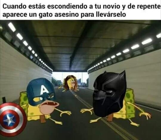 ¡WTF!Con Black Panther :'v - meme