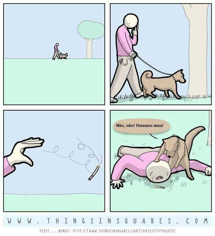 Não faça isso perto do seu cachorro - meme