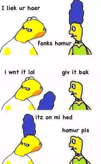 homUr pls - meme