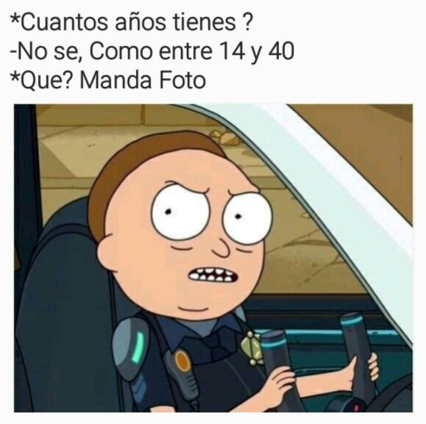 Morty!!! - meme