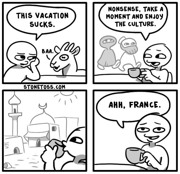 You're a faguette - meme
