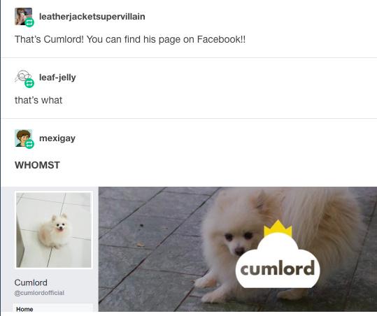 Cumlord eh? - meme