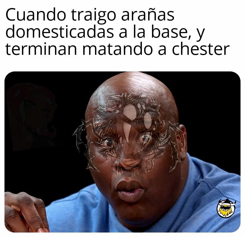 F por chester - meme
